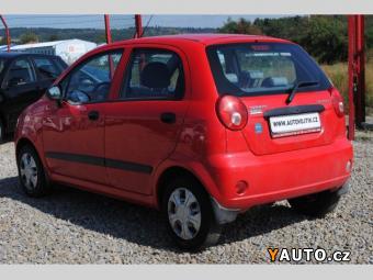 Prodám Chevrolet Spark 0.8i KLIMA, SERVO, 1. MAJITEL ČR