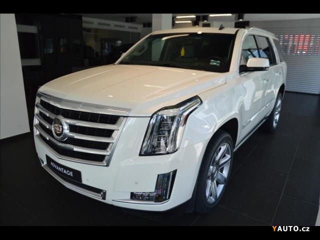 Prodám Cadillac Escalade 6,2 V8, ACC, TV vzadu, Top