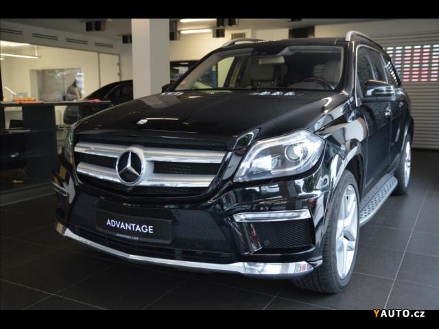 Prodám Mercedes-Benz GL 3,0 350BT 4M, AMG, Fond Entertai