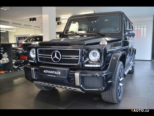Prodám Mercedes-Benz Třídy G 5,5 G63 AMG Edition 463, TV v