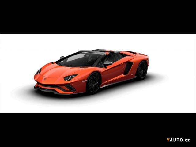 Prodám Lamborghini Aventador 6,5 V12 Aventador S Roadster, 2