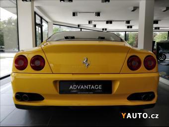 Prodám Ferrari F550 5,5 Maranello, Giallo Modena, TO
