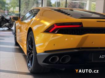 Prodám Lamborghini Huracán 5,2 LP 610-4, Lift, Kamera, Sport