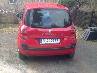 Prodám Renault Modus 1, 2, 16V
