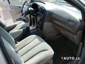 Prodám Chrysler Voyager 2.5 CRD 7míst tempomat, tažné