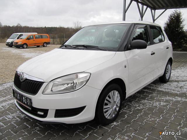 Prodám Škoda Fabia II 1.2 HTP KLIMA, CENTRÁL.
