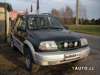 Prodám Suzuki Grand Vitara 2.0 5DR 94kW