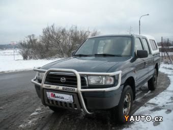 Prodám Mazda B2500 2.5TD 4x4, KLIMA