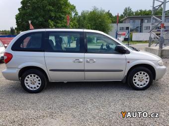 Prodám Chrysler Voyager 2.5CRD, 7. MÍST, KLIMA, TEMPOMAT