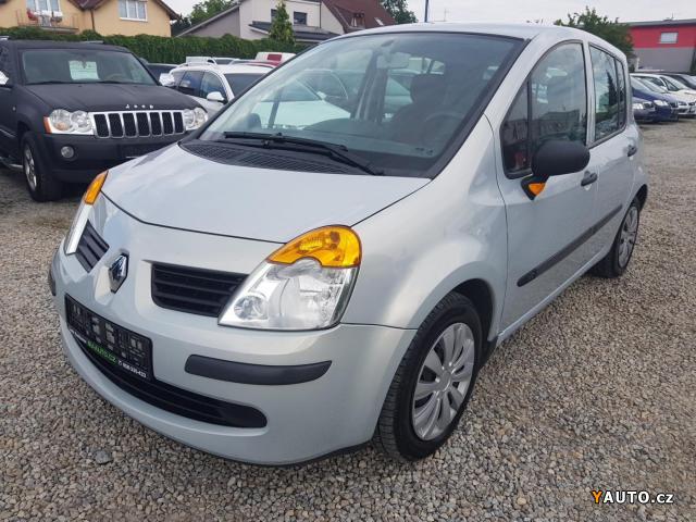 Prodám Renault Modus 1.5DCI, 6xAIRBAG, KLIMA, ABS, ZÁVĚ