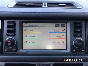 Prodám Land Rover Range Rover 3,6 TDV8, původ ČR, výbava