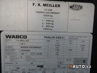 Prodám Meiller Sklápěcí návěs 24m3 Hardox