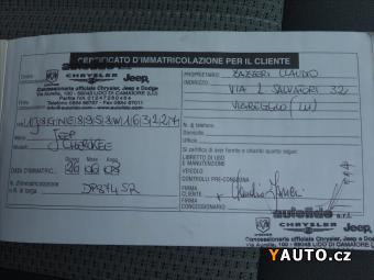 Prodám Jeep Cherokee 2,8 CRD Rezervace, Limited, auto