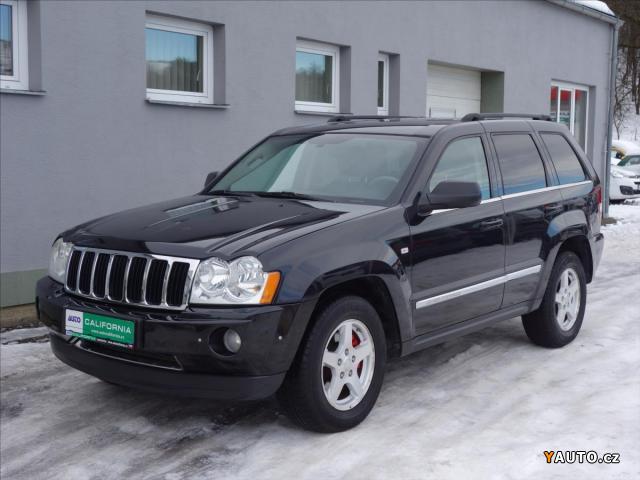 Prodám Jeep Grand Cherokee 3,0 CRD Limited, kůže, automat