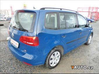 Prodám Volkswagen Touran 1,4 i, CNG, klima, s. kn. CZ, DPH