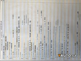 Prodám Agados VZ 0,0 Celková hm:1300kg, p:340kg