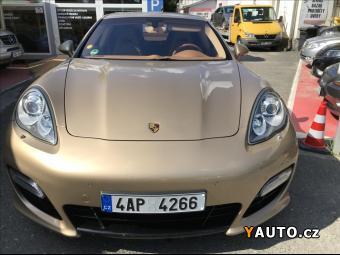 Prodám Porsche Panamera 4,8 TURBO S, PDK, 100% stav, Full