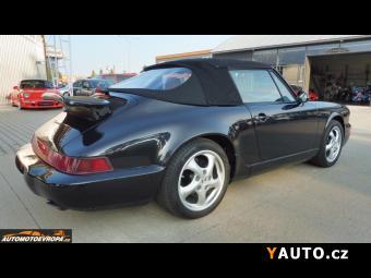 Prodám Porsche 911 Carrera 2 964 Cabriolet, automat