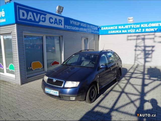 Prodám Škoda Fabia 1,4 i ČR I