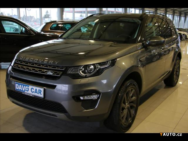 Prodám Land Rover Discovery Sport 2,0 TD4 SE 4x4 Tažné Bi-Xenony