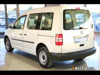 Prodám Volkswagen Caddy 1,6 TDI 75 kW 5-Míst Klima