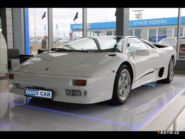 Prodám Lamborghini Diablo 5,7 1. Series V12 495 HP