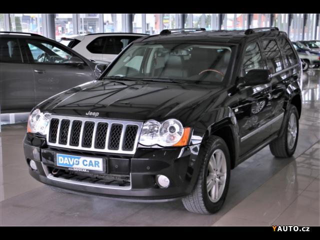Prodám Jeep Grand Cherokee 3,0 CRD 4x4 Overlang 1. Majitel
