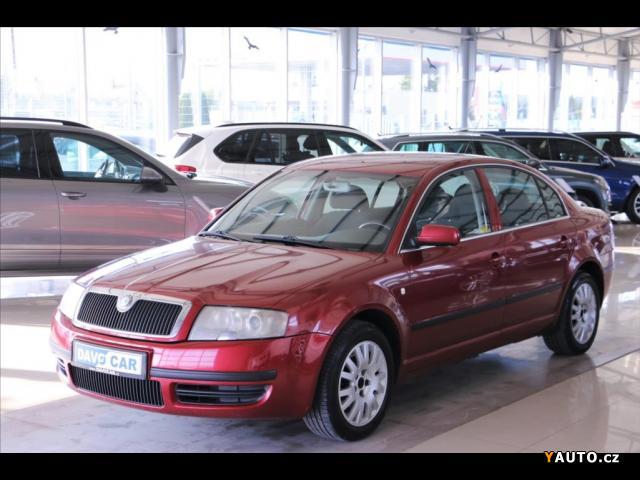 Prodám Škoda Superb 1,9 TDI 96 kW CZ Comfort I