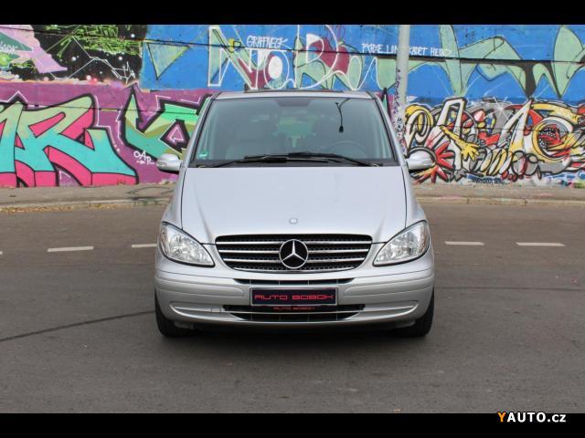 Prodám Mercedes-Benz Viano 2.2CDi, automat, šíbr, top stav