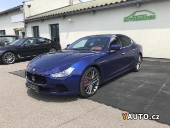 Prodám Maserati Ghibli S Q4 Premium a Sport paket