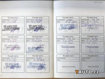 Prodám Lexus IS 220 D CZ - serviska