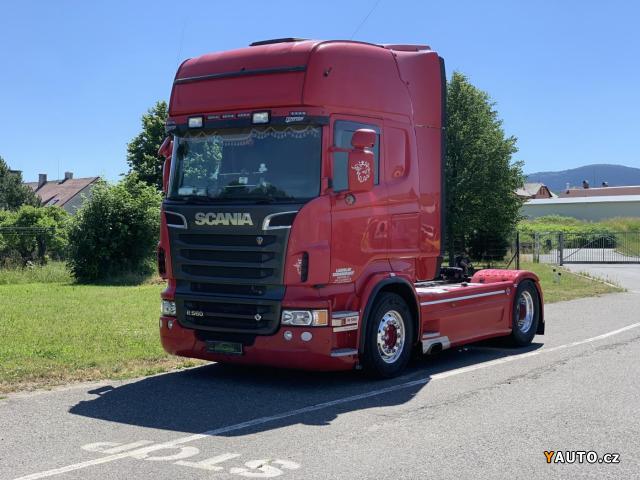 Prodám Scania R560 V8 4x2 - max. výbava