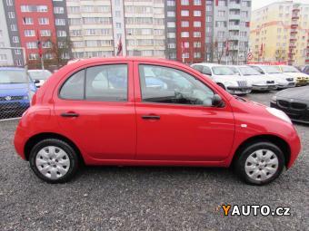 Prodám Nissan Micra 1.0i 48kW, ČR, 1. majitel, nová