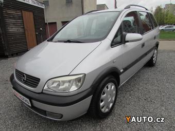 Prodám Opel Zafira 1.8i, 7 míst, nová STK
