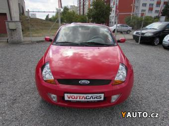 Prodám Ford Streetka 1.6i 70kW, nová STK, Serviska