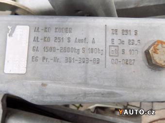 Prodám Agados VZ3362P Cargo Al. Skříň