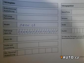 Prodám Daihatsu Sirion 1.3 VVTi