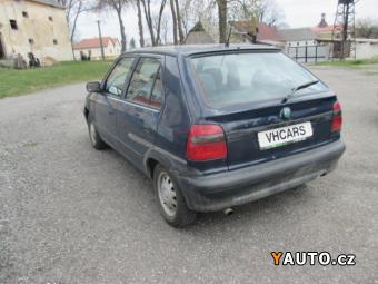 Prodám Škoda Felicia 1,3i EKO uhrazeno Servisní kni