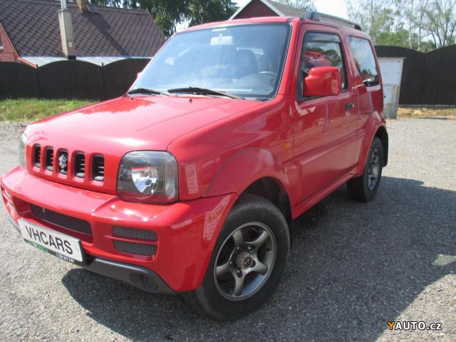 Prodám Suzuki Jimny 1,3i 63kW 4x4