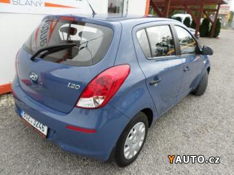 Prodám Hyundai i20 1.25i, 1majČR, Klima, Tov. záruka