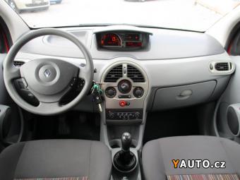 Prodám Renault Modus 1.2i, 55kW, 1majČR, 76tkm, serv. kn