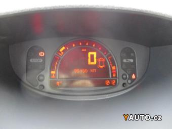 Prodám Renault Modus 1.4i, 72kW, NovéČR, 95tkm, klima
