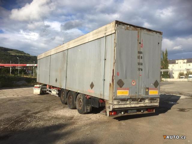 Prodám Reisch RSBS-35 92m3 POSUVKA