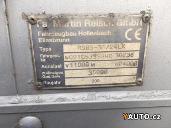 Prodám Reisch RSBS - 35, 24lk * 92m3 *