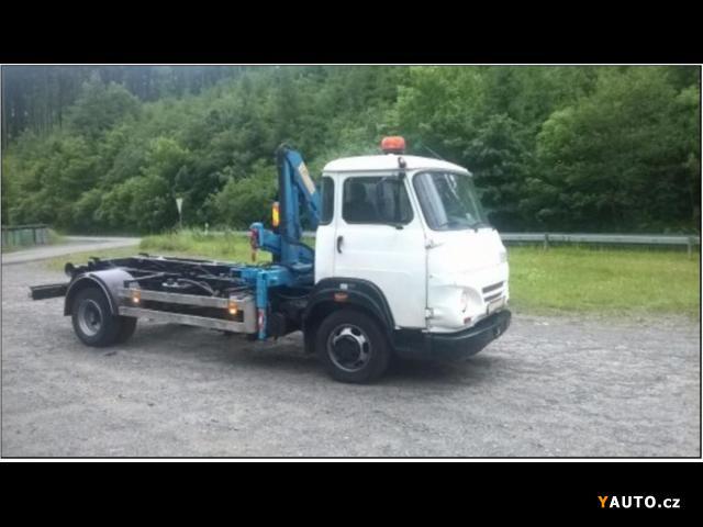 Prodám Avia A 75 kontejner s hydraulickou rukou