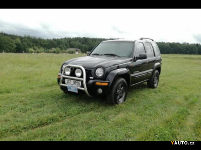 Prodám Jeep Cherokee KJ CRD Limited 4x4
