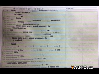 Prodám Škoda Superb COMBI 2.0 TDI DSG