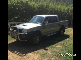 Prodám Mitsubishi L200 4x4, Double -Cab, 2,5 TD