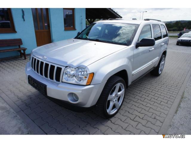 Prodám Jeep Grand Cherokee 3.0 CRD 160 Kw LIMITED Původ D