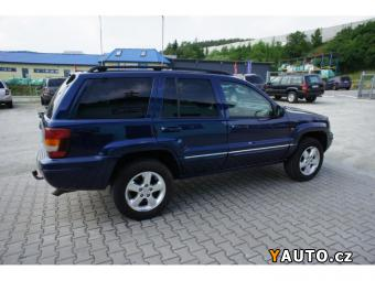 Prodám Jeep Grand Cherokee 2.7 CRD 120 Kw OVERLAND Původ